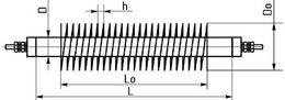 Трубчатые электронагреватели с оребрением (ТЭНР)