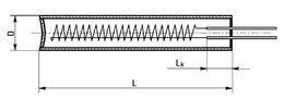 Трубчатые электронагреватели патронного типа (ТЭНП)