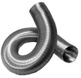 Воздуховод (дымоход) гибкий гофрированный из нержавеющей стали
