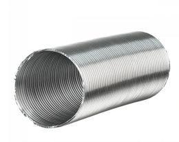 Воздуховод Гибкий гофрированный алюминиевый