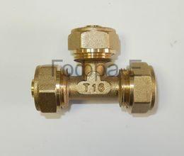 Фитинги обжим (цанга) для м/п трубы HydroSta с толщиной стенки 2.0мм