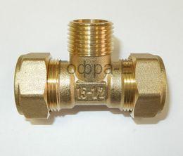 Тройник Труба-наружная резьба-труба HydroSta