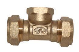 Тройник Труба-внутренняя резьба-труба Lavita