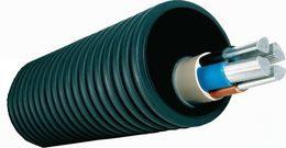 ПВХ Гофра и Оцинкованный металлорукав для кабеля