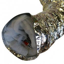 Воздуховоды гибкие тепло-звукоизолированные
