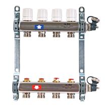 Коллекторная группа из нержавеющей стали с регулировочными и термостатическими вентилями Uni-Fitt (Юнифит)